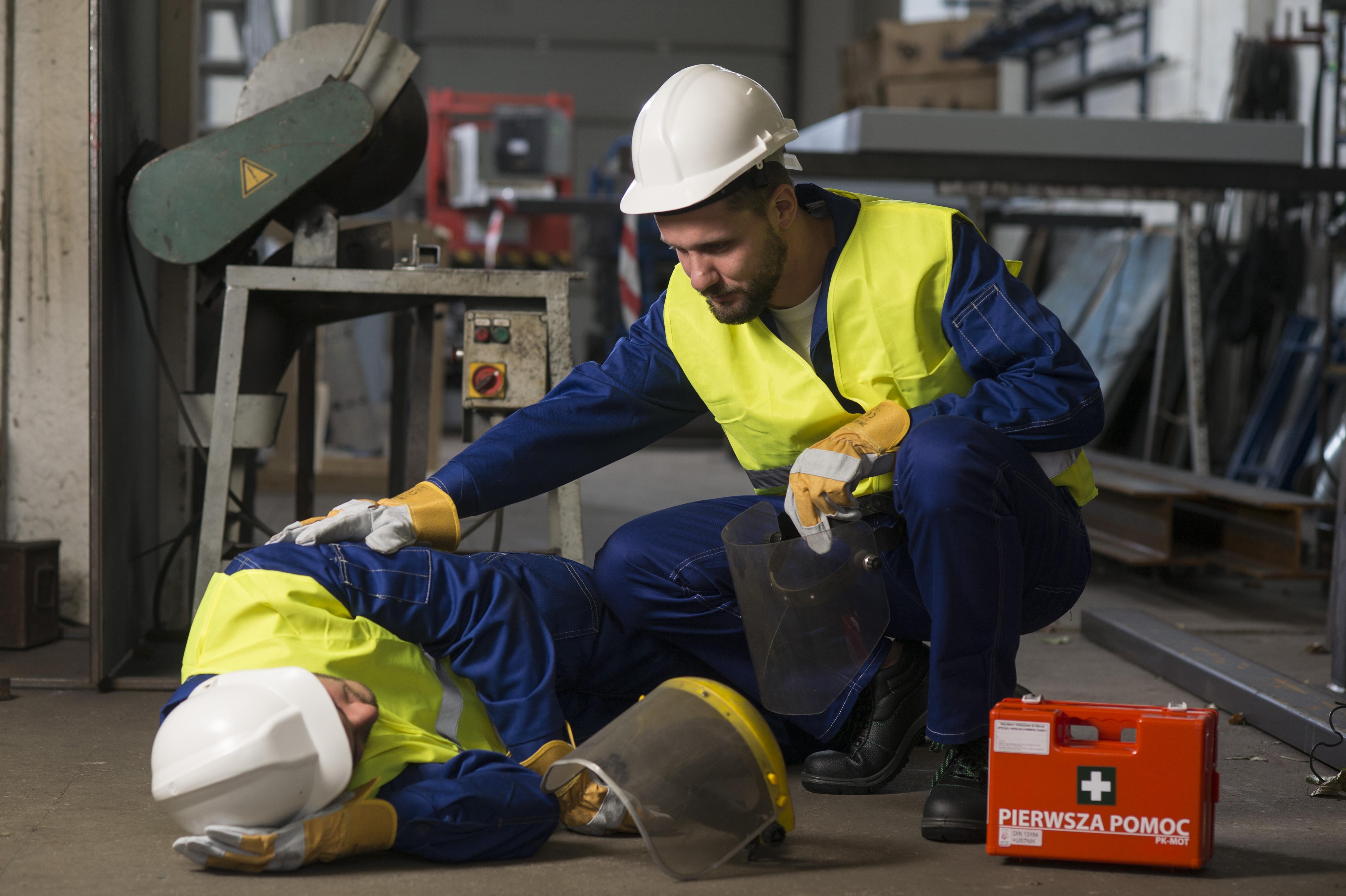 KursBHP - wypadek przy pracy
