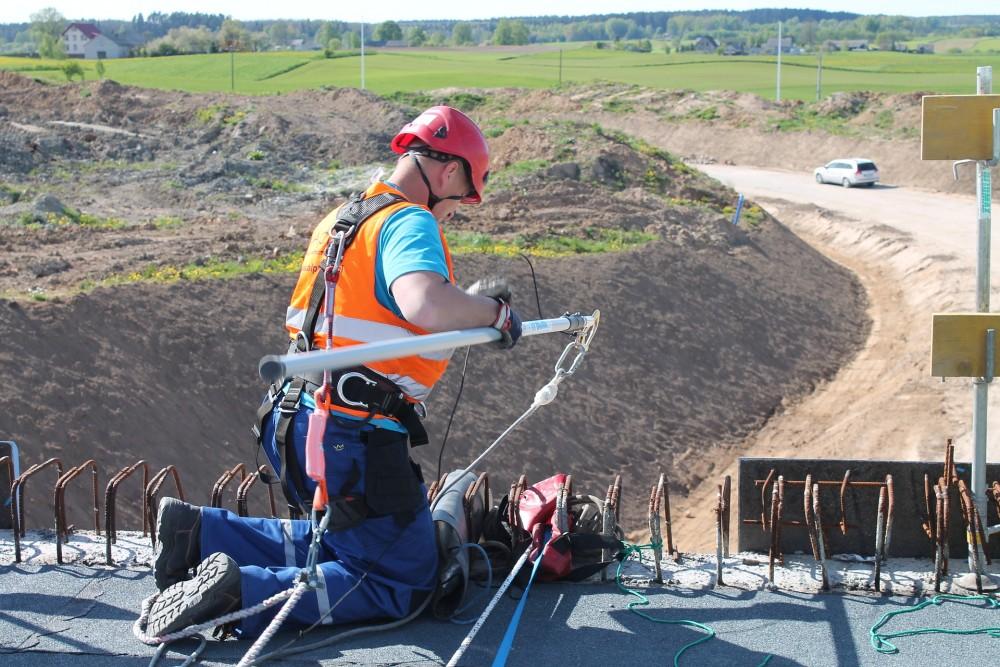Praca na wysokości w ujęciu BHP