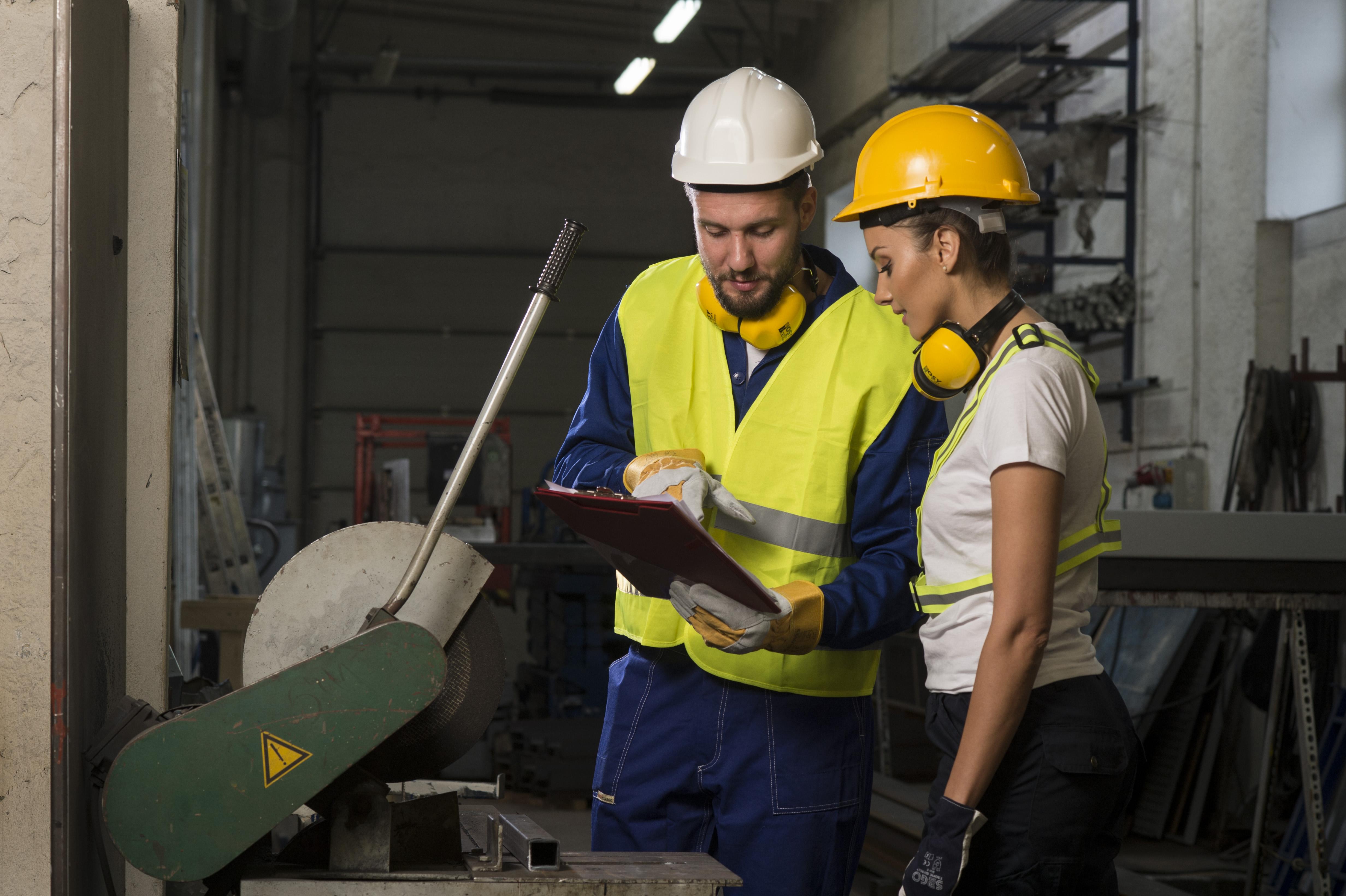Szkolenie wstępne bhp pracowników na stanowiskach robotniczych
